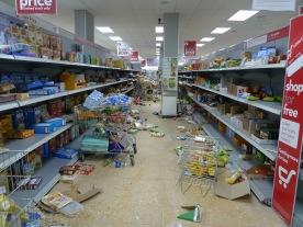 Supermarket after