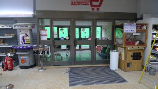 Supermarket lobby